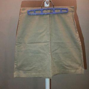 Gap khaki skirt.
